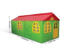 "DOLONI-TOYS ""Будинок з шторками"" артикул 02550/23, Фламинго"