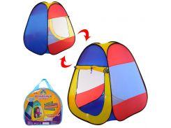 Палатка детская игровая M 5747  пирамида80-80-90см, Play Smart
