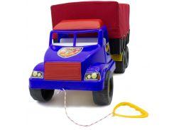 Волант фургон военный, синий с красным, Maximus