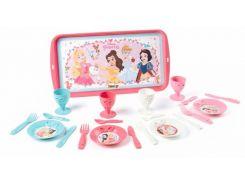 Набор посуды Полдник с подносом, Disney Princess, Smoby Toys