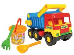 Middle truck с набором для песка 4 эл., Wader