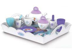 Набор посуды Чаепитие, с большим подносом, Disney Frozen, Smoby Toys