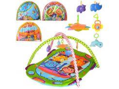 Коврик детский для младенца PB101-2-3-4  95-95см, ББ