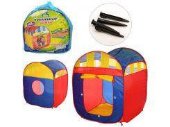 Палатка детская игровая M 1421  куб, Play Smart
