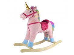 Качалка для детей GS2056  лошадка-единорог, Grand Step