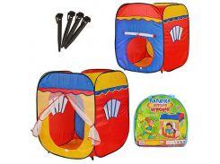 Палатка детская игровая M 1402  куб, ББ
