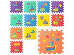 Коврик детский Мозаика M 5732  цифры/день рожд12д, ББ