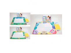 Коврик детский 66399-12-3-4  для рисования водой, ББ