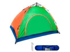 Палатка детская игровая туристическая 4чел 2*2*1.45м R17764 , Хозтовары
