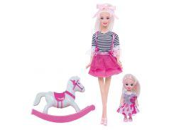 Кукла Ася с аксессуарами, Прогулка верхом, Ася
