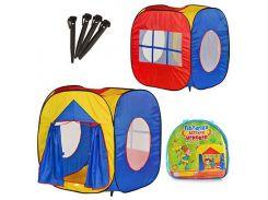 Палатка детская игровая M 0507  куб, МЭТР Плюс