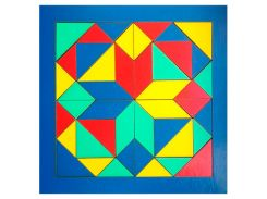 """Мозаїка """"Геометрика"""" 240*240мм 172401 ТМ Дерево, Дерево"""