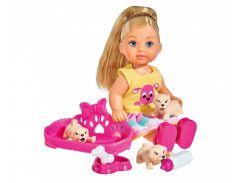 Набор с куклой Эви Маленькие любимцы, Steffi & Evi Love