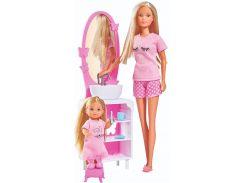 Набор кукол Штеффи и Эви Спокойной ночи, Steffi & Evi Love