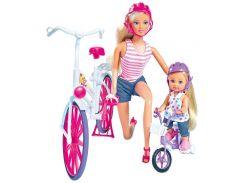 Прогулка Штеффи и Эви на велосипедах, Steffi & Evi Love
