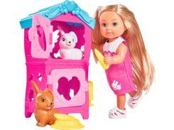Набор с куклой Эви Домик кроликов, Steffi & Evi Love