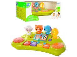 Пианино 2103A  4ноты, Huile Toys