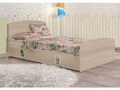 Кровать «3в1» венге св. (ящ.3 секц, 90x190см)