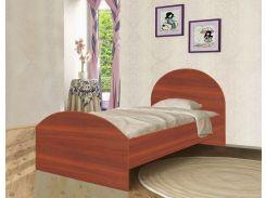 Кровать с ящиком из ДСП яблоня локарно (120*190см)