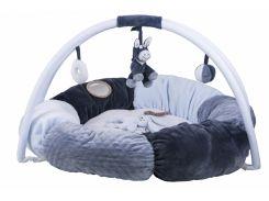 Nattou Развивающий коврик с дугами и подушками Алекс и Бибу 321259