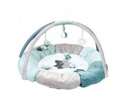Nattou Развивающий коврик с дугами и подушками Джек, Юлий и Нестор 843270