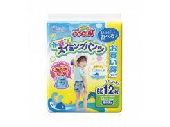 Трусики-подгузники для плавания GOO.N для мальчиков (Big (XL), 12-20 кг, рост 80-100 см)
