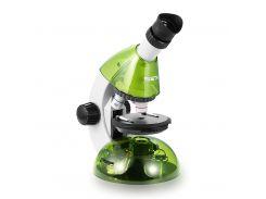 Микроскоп SIGETA MIXI 40x-640x GREEN (с адаптером для смартфона)
