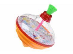 Дзиґа Same Toy Peg-top зі світлом та звуком HAPPY рожева 8520Ut-2