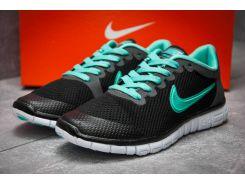 Кроссовки женские Nike Air Free 3.0, черные (12997) размеры в наличии ► [  36 38  ]