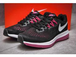 Кроссовки женские Nike Zoom Pegasus V4, черные (13181) размеры в наличии ► [  39 40  ]
