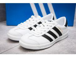 Кроссовки женские Adidas Hamburg, белые (13851) размеры в наличии ► [  36 37  ]