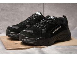 Кроссовки женские  Balenciaga Triple S, черные (14911) размеры в наличии ► [  38 39  ]