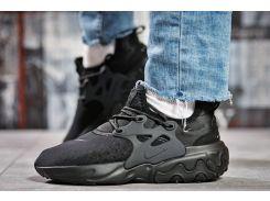 Кроссовки женские Nike React, черные (15444) размеры в наличии ► [  37 38 39 40 41  ]