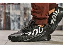 Кроссовки мужские Adidas Yeezy 700, черные (15522) размеры в наличии ► [  42 43 44  ]