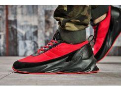 Кроссовки мужские Adidas Sharks, красные (15603) размеры в наличии ► [  41 42 45  ]