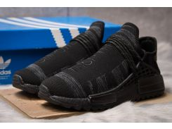 Кроссовки мужские Adidas Pharrell Williams, черные (14921) размеры в наличии ► [  41 42 43 44  ]