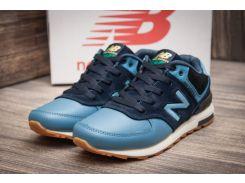 Кроссовки мужские New Balance 574, синие (11132) размеры в наличии ► [  42 43  ]