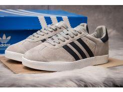 Кроссовки мужские Adidas Gazelle, серые (14134) размеры в наличии ► [  42 (последняя пара)  ]