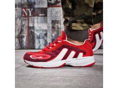 Кроссовки мужские Adidas Galaxy, красные (15914) размеры в наличии ► [  43 (последняя пара)  ]