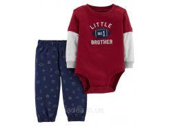 Нарядный бодик и штаники  для мальчика Carter's, размер 18M