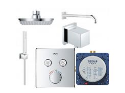 Набор для душа Grohe Grohtherm SmartControl Cube 23409SC0