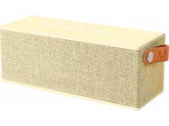 Портативная колонка Fresh N Rebel Rockbox Brick Fabriq Edition Buttercup (1RB3000BC)