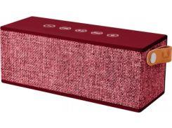 Портативная колонка Fresh N Rebel Rockbox Brick Fabriq Edition Ruby (1RB3000RU)