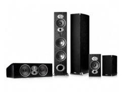 Комплект акустики Polk Audio RTi A7 Tower + RTi A3 Bookshelf + CSi A6 Center Black Wood Veneer