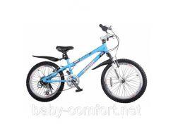 Велосипед двухколесный 20 дюймов Royal Baby Freestyle голубой