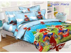 Комплект подросткового постельного белья Super Mario