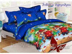 Детский полуторный постельный комплект Элвин и бурундуки