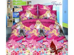 Детский комплект постельного белья Барби