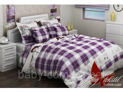 Подростковый комплект постельного белья R2068 violet