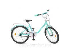 Детский двухколесный велосипед 20 дюймов PROF1 Y2084 мята